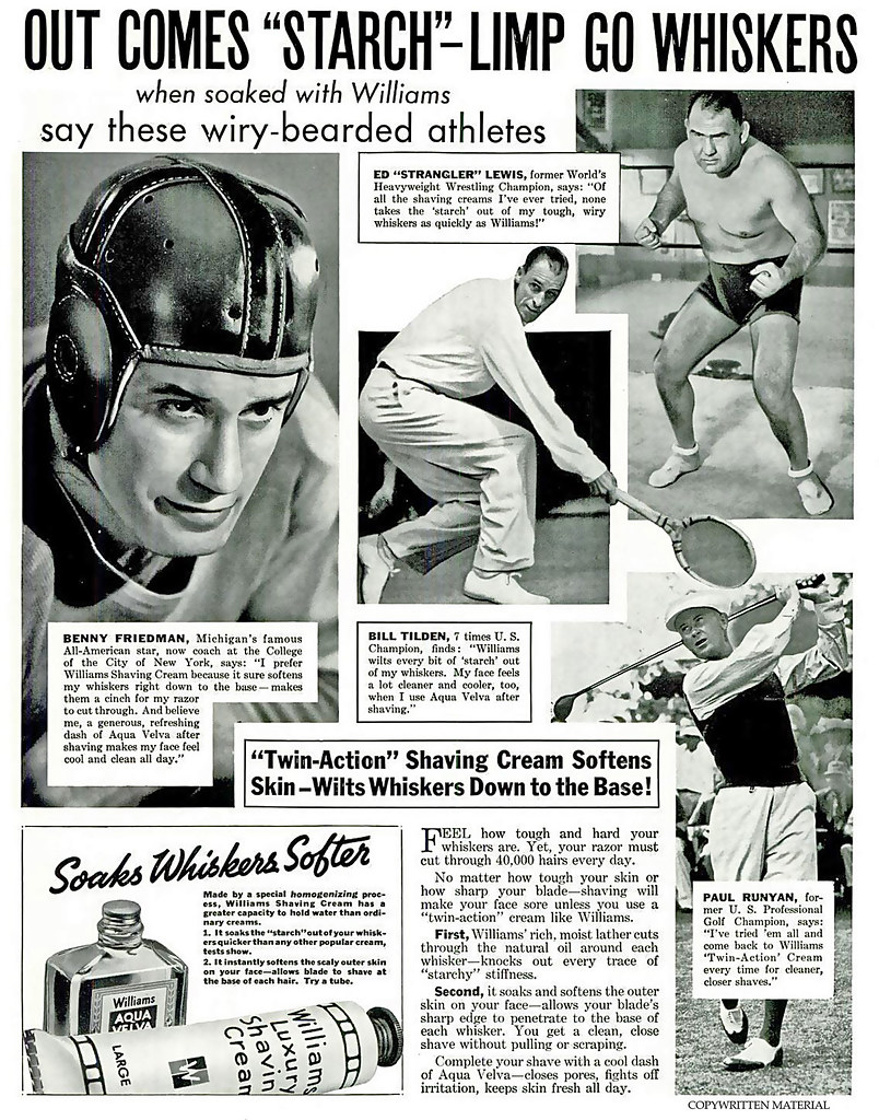 1936 ... wiry bearded athletes!