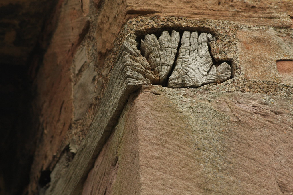 Melrose Abbey Bell Support | BeardyRob | Flickr