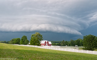 A Maine Shelf Cloud