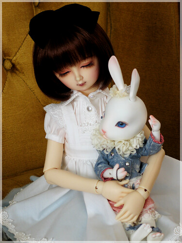 Alice Catches the White Rabbit