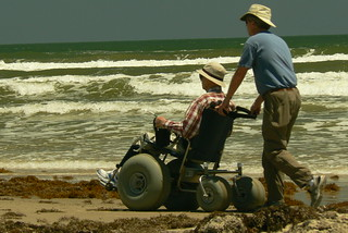 Photo:Beach wheelchair By:qnr