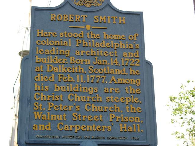 Photo of Robert Smith blue plaque