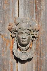 carving, art, temple, wood, sculpture, door knocker,