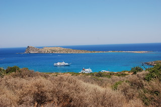 Obraz Olous. sea summer island greece crete 2008 kriti agiosnikolaos κρήτη elounta ancientolous kolokythapeninsula ελούντα νομόσλασιθίου επαρχίαμεραμπέλλου
