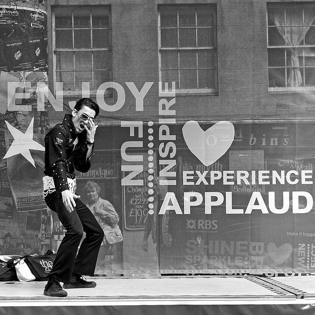 Edinburgh Festivals Elvis