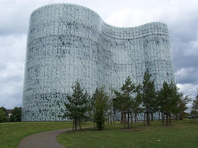 Bibliotheksgebäude