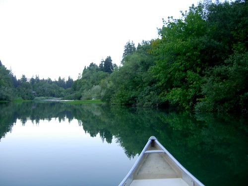 california county trees sunset water river sonoma august canoe russian 2008 guerneville
