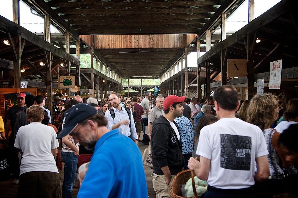 Ithaca Farmers Market Concourse