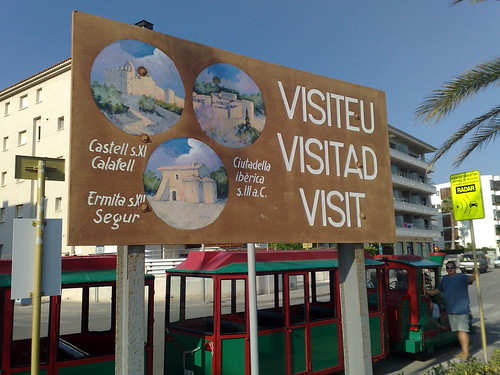 Visiteu Visitad Visit Calafell