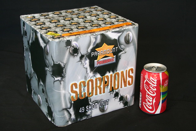 EpicFireworks - Scorpions large bore 49 shot