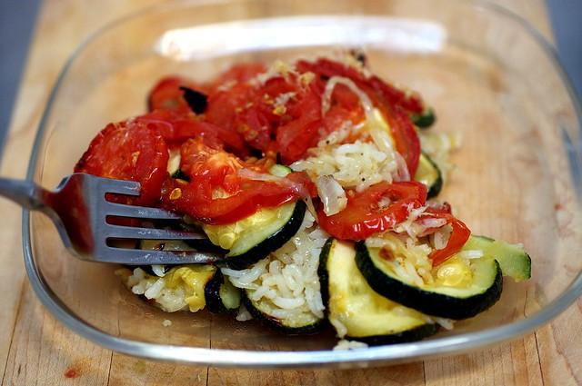 zucchini rice gratin | Flickr - Photo Sharing!