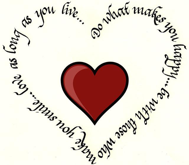Calligraphy Heart Gift - Avenefica | Flickr - Photo Sharing!