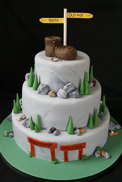 Tramping/Hiking Cake
