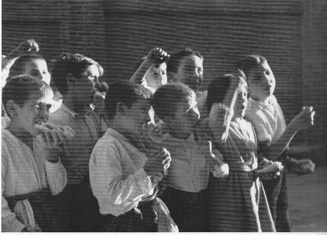 Niños en la Guerra Civil en Toledo. Septiembre de 1936. Fotografía de Hans Namuth/Georg Reisner