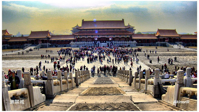 Forbidden City, the Palace Museum in Beijing(紫禁城)