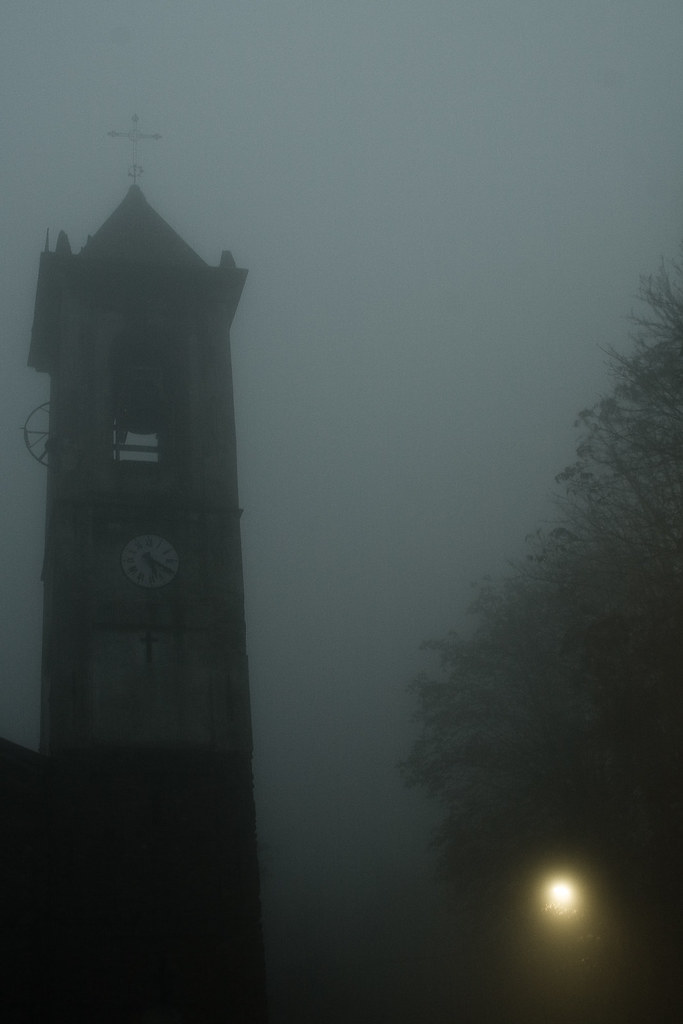 Halloween Chiesa.Chiesa Nella Nebbia Halloween View On Black Luca Flickr