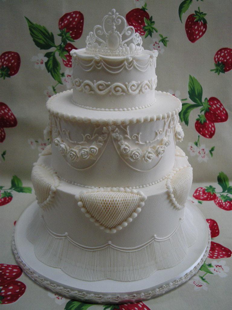 All Sizes Royal Icing Wedding Cake 2 Flickr Photo Sharing