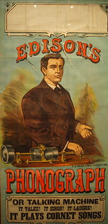 Edison's Phonograph poster, Smithsonian American Art Museum