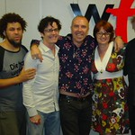 Crowded House with Claudia Marshall at WFUV