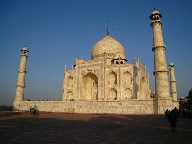 Taj Mahal corner view