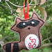 Doodle Stitching Raccoon by merwing✿little dear