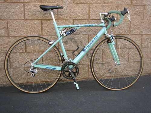1996 Bianch Paris Roubaix Side