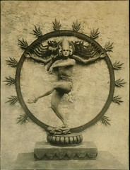 Ted Shawn in Cosmic Dance of Siva during Ziegfield Follies T...