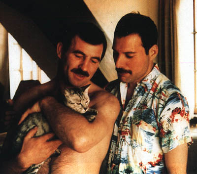 Jim_Hutton_Freddie_Mercury's_Boyfriend http://www.flickr.com/photos/30276755@N08/3282026347/