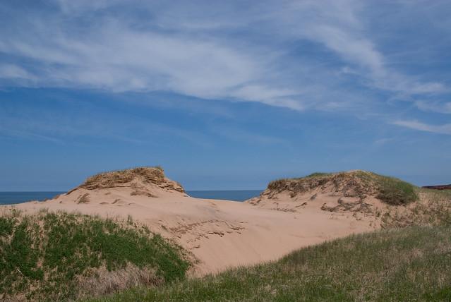 Sand Dunes, Cavendish Beach by CC user kitonlove on Flickr
