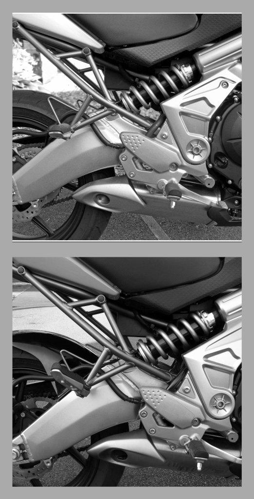 No Hugger / Hugger - Kawasaki Versys