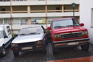 1983 Peugeot 505 Covadonga & (US spec) Ford Explorer