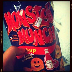 My supercrunchy breakfast #monstermunch #food #igbru #brunika #iphoneography #sgig #goodmorning