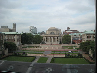 Image of Alma Mater. nyc campus university library columbia butler