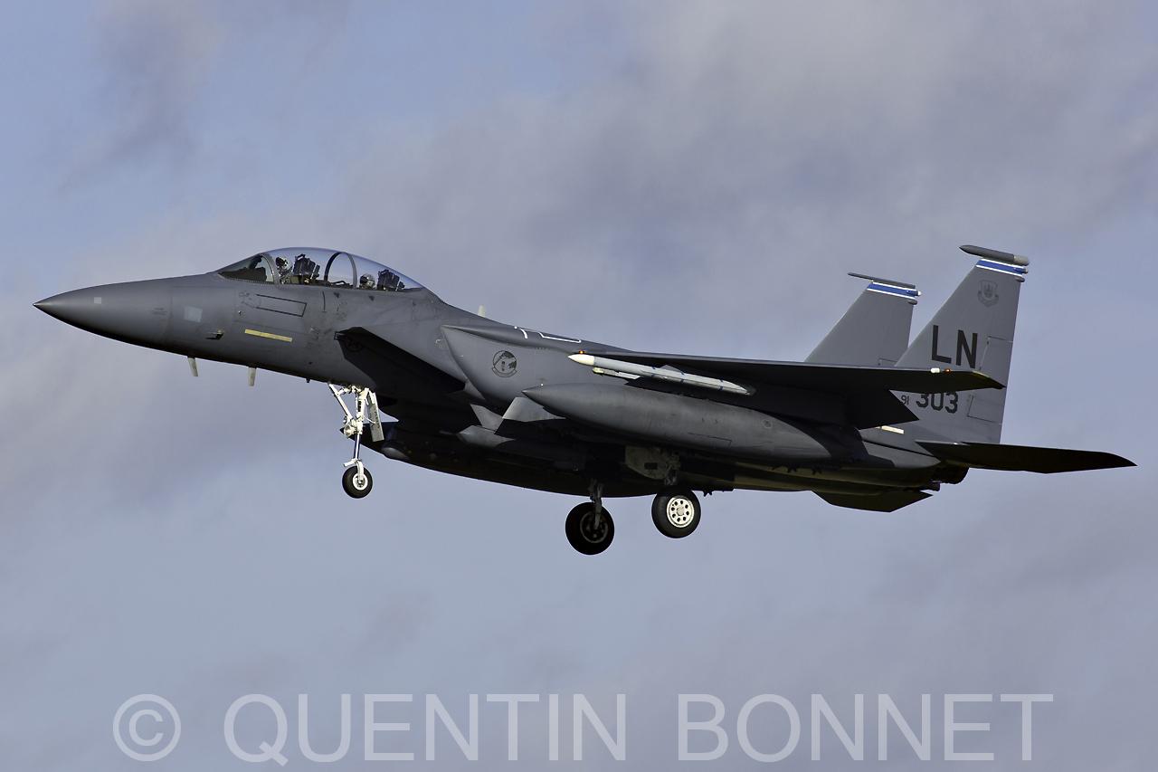 USAF McDonnell Douglas F-15E Strike Eagle LN 91-303