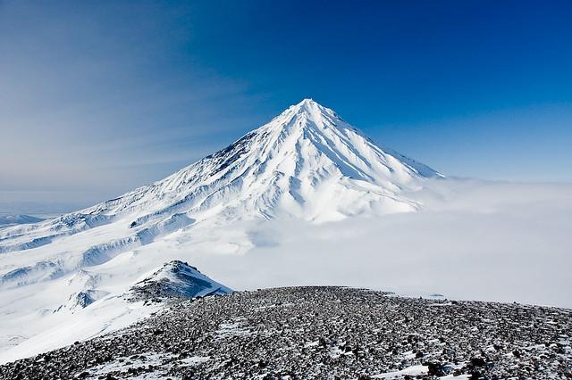 Volcán Koryaksky, Kamchatka, Siberia