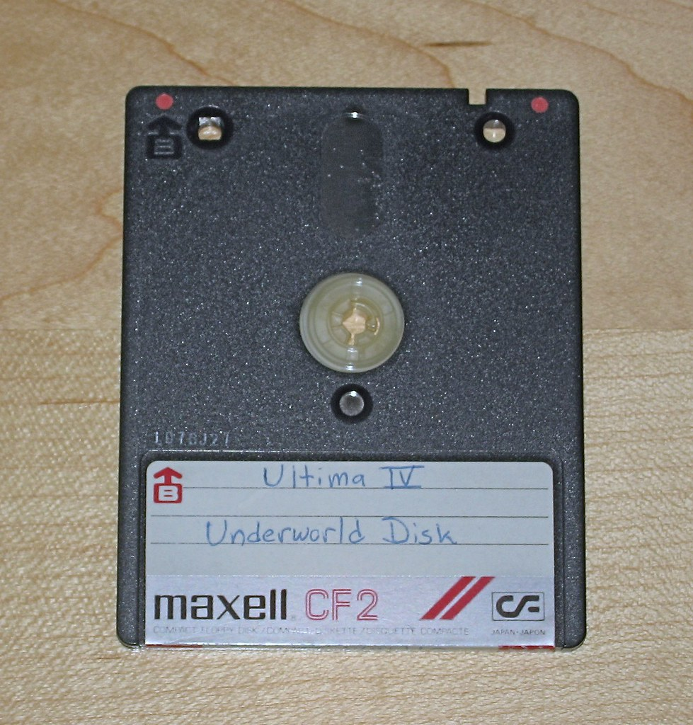Compact Floppy Disk