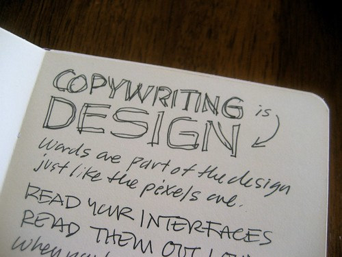 SEED 3 Sketchnotes: Copywriting is Design
