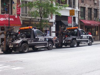 NYPD Traffic 6955 and 6886