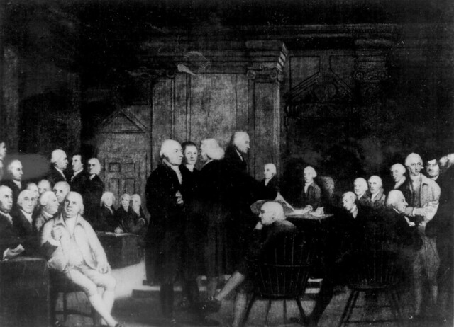 an analysis of the topic of the second continental congress convenes in philadelphia Constitdemocracy ch1, part1 - download as the analysis of political such principles and organizing its powers in such formchronology of events american revolution begins on 04/18 /1775 second continental congress convenes on 05/10/1775 ben franklin presents a plan for.