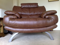furniture, brown, chair,