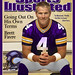 Brett Favre In Minnesota Vikings Uniform On Sports Illustrated