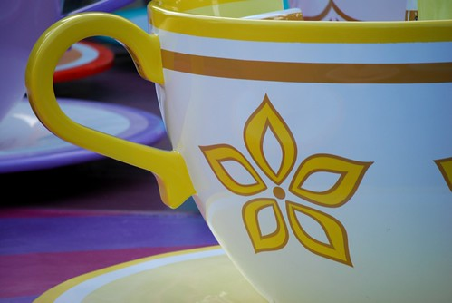Yellow Tea Cup