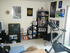 one side of my living room