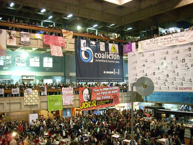 Crisis en la facultad de arquitectura dise o y urbanismo for Cursos facultad de arquitectura