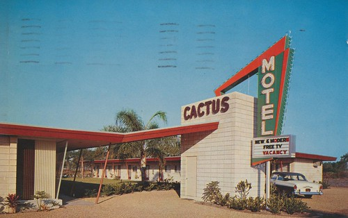 Cactus Motel - St. Petersburg, Florida by The Pie Shops