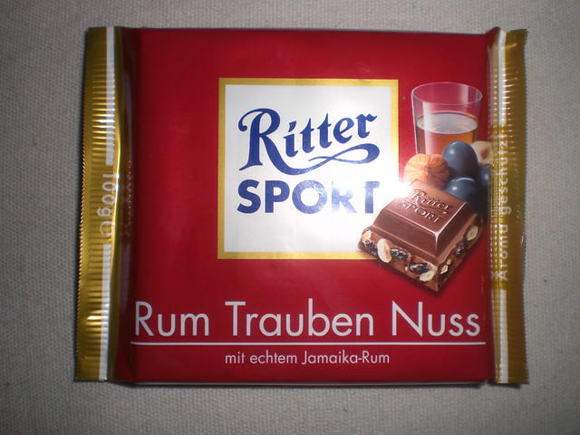 ritter sport rum traube nuss flickr photo sharing. Black Bedroom Furniture Sets. Home Design Ideas