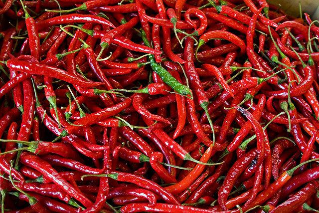 Mostly Red Peppers