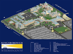 Kingsborough College Campus Map Rendering The Drawing Stu Flickr