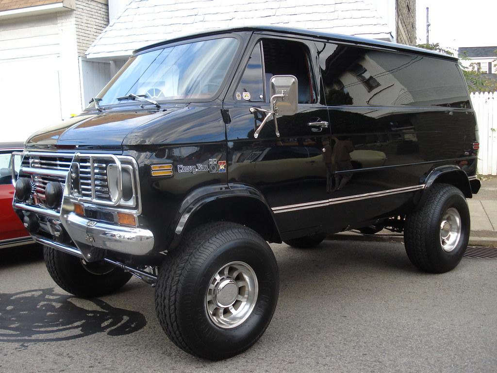 El Camino 4x4 Conversion >> 70s 4x4 Chevy Van | Autos Post
