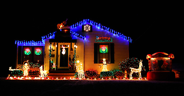 Solar Light Christmas Decorations